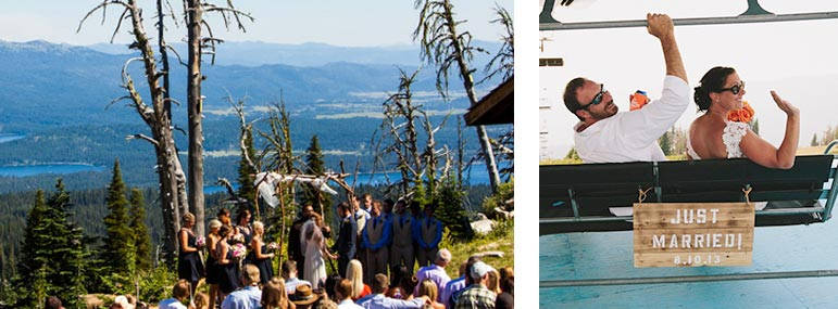 McCall Wedding Venue Brundage Mountain
