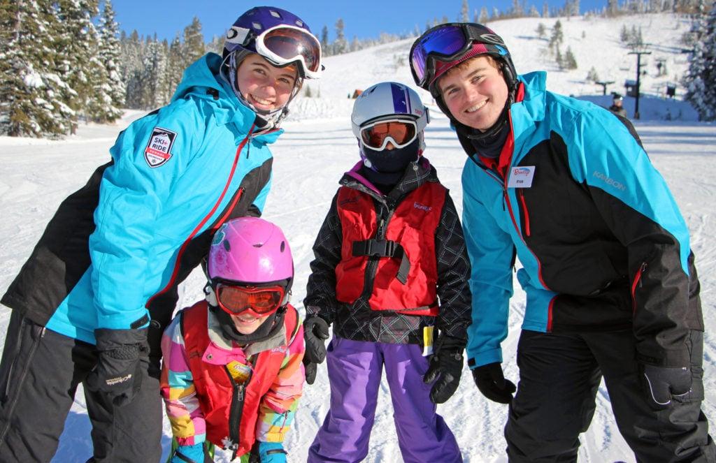 easy street ski lesson