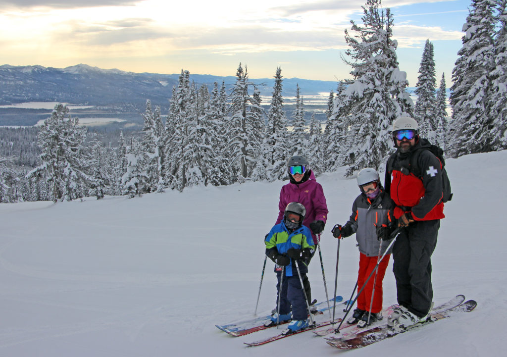 family ski lakeview