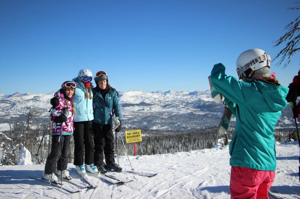 photo op at summit