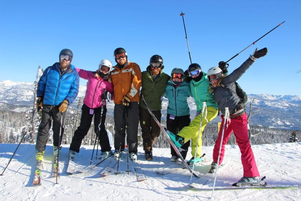 group photo at summit