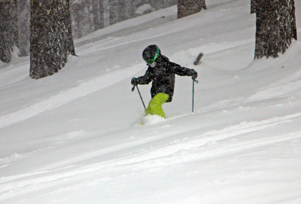kid in powder