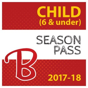 Child season pass icon