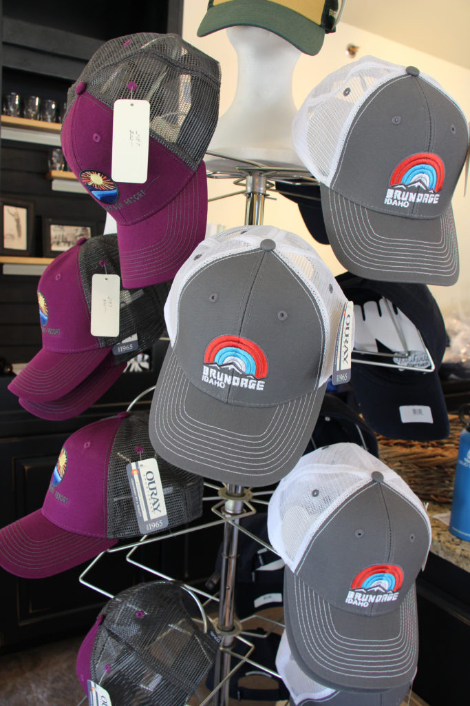 Trucker hats at Brundage Downtown Shop