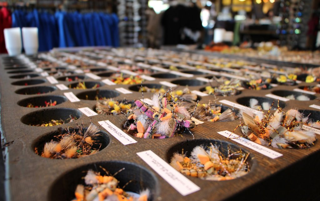 Dry Flies at Brundage Downtown Shop