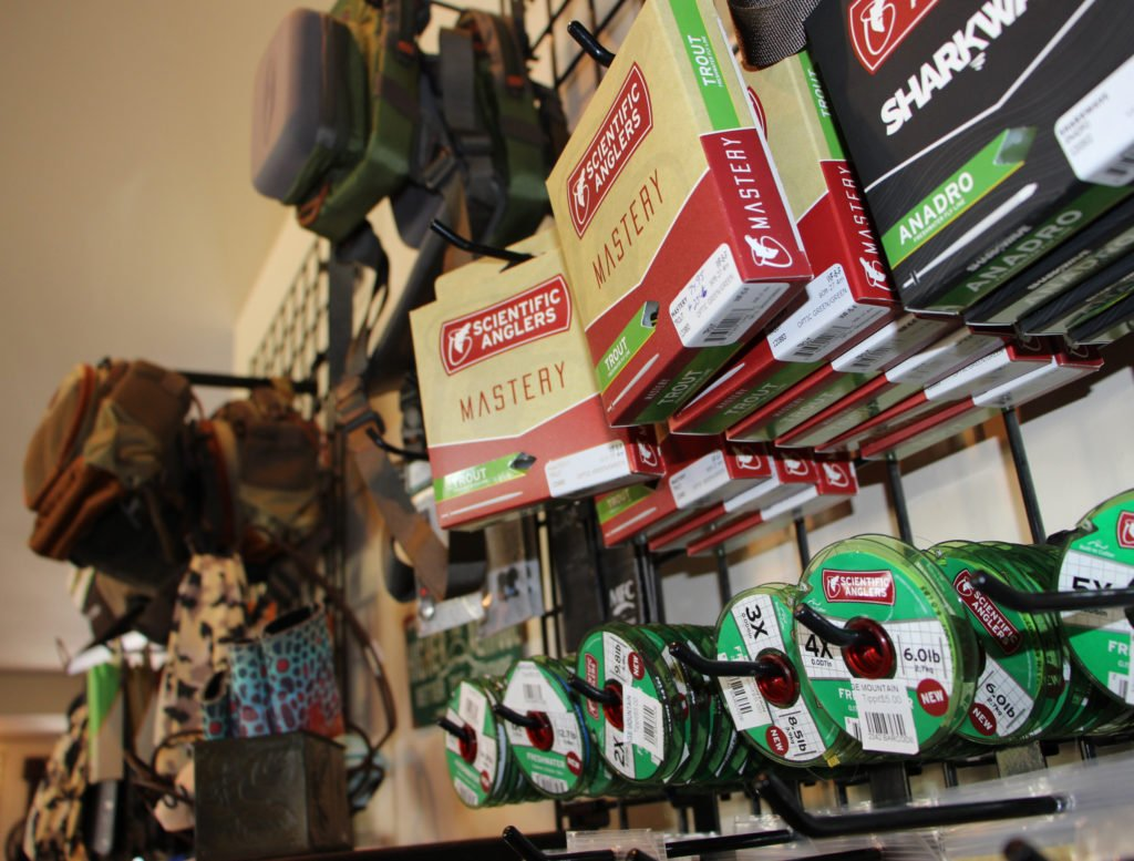 Fishing tackle at Brundage Downtown SHop