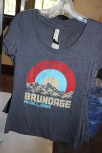 T shirt at Brundage Downtown Shop
