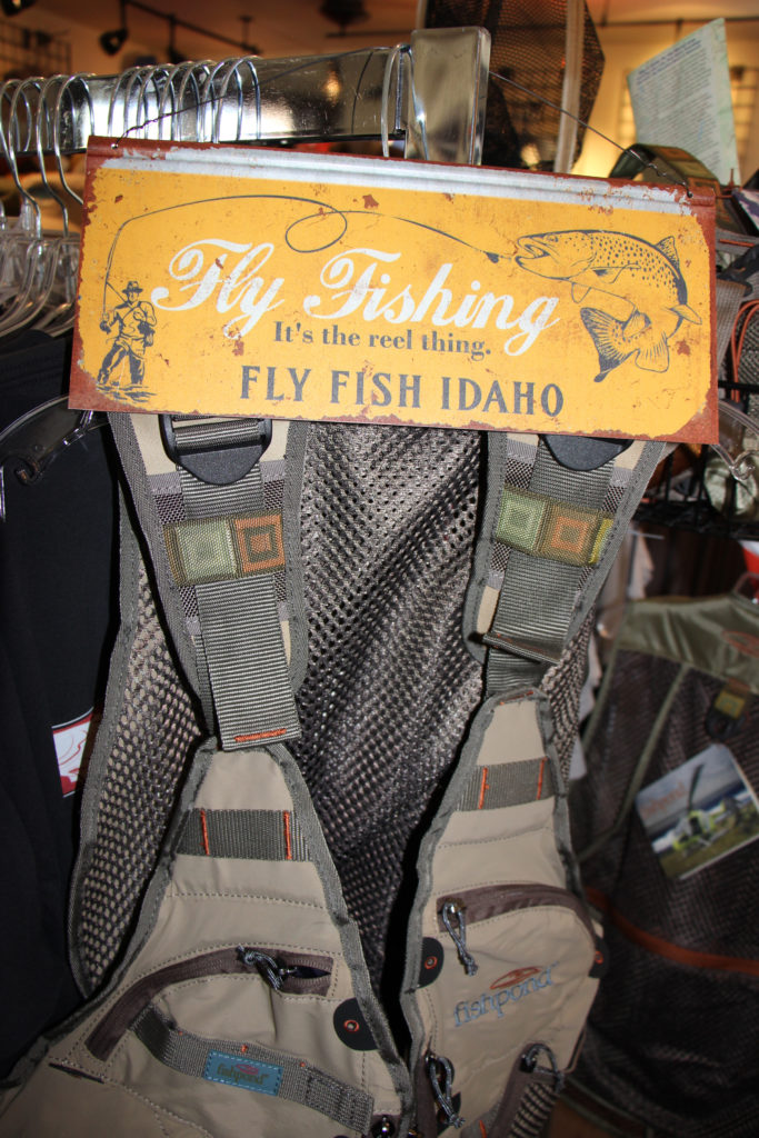 Fly fishing vest from Brundage Downtown Shop