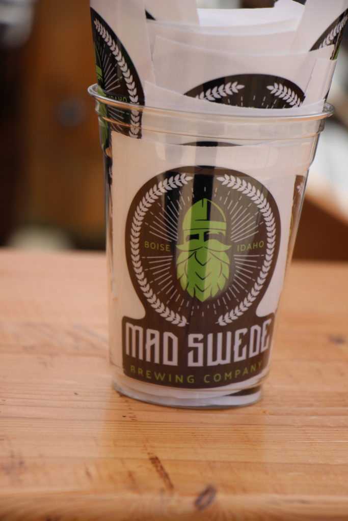mad swede brewing company stickers