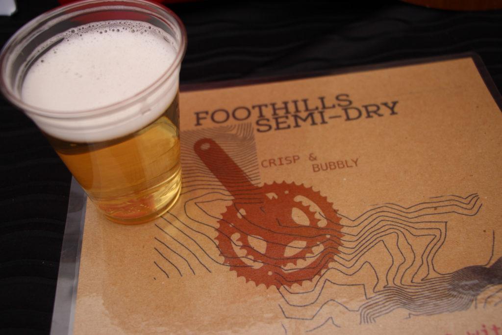 Foothills cider