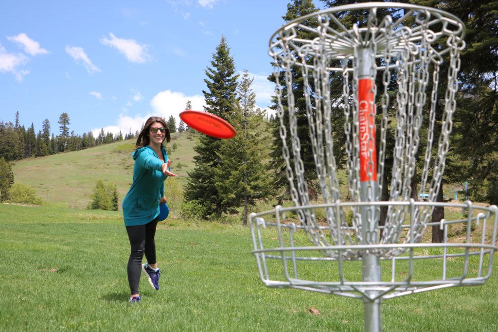 Disc Golf - Brundage Mountain Resort