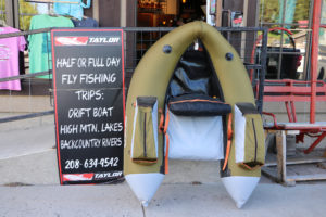 Downtown Shop Exterior FLoat Tube Taylor Outfiters