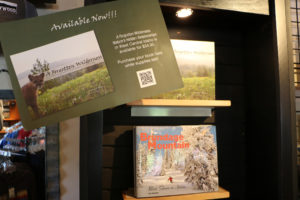 Nature Book and Brundage History Book on Display