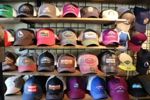 Baseball Caps at Downtown Shop