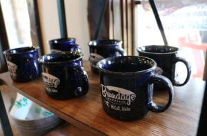 Coffee Mugs at Downtown Shop