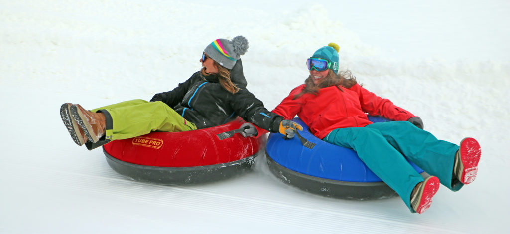 The Ultimate Snow Tubing Experience at McCall's Activity Barn