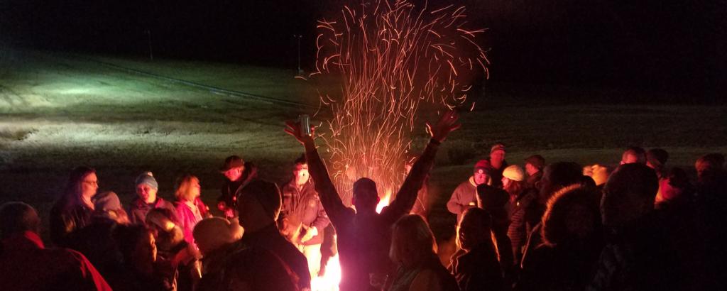 Pray for Snow Bonfire